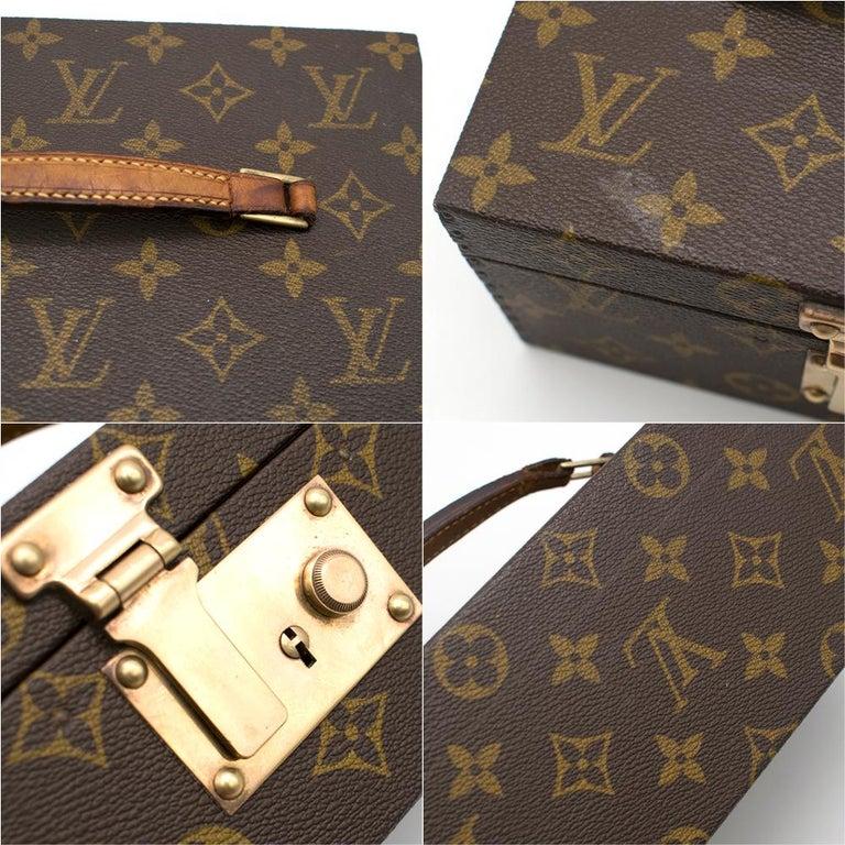 Louis Vuitton Monogram Boite a Tout Jewellery Case For Sale 4
