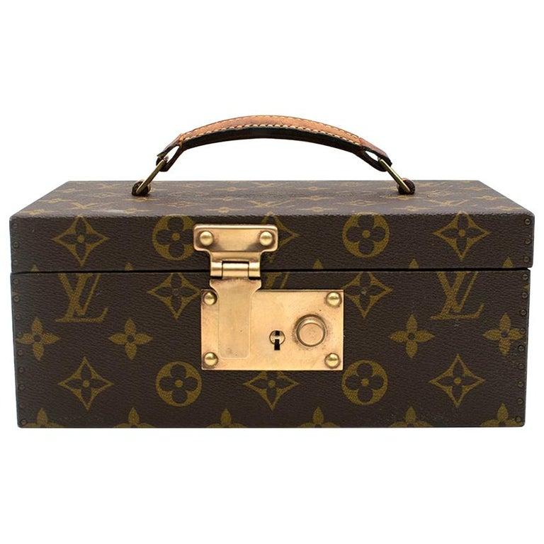Louis Vuitton Monogram Boite a Tout Jewellery Case For Sale