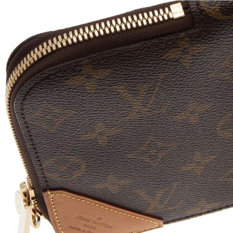 the best attitude 84ff6 d98cd Louis Vuitton Monogram Canvas 5 Tie Case