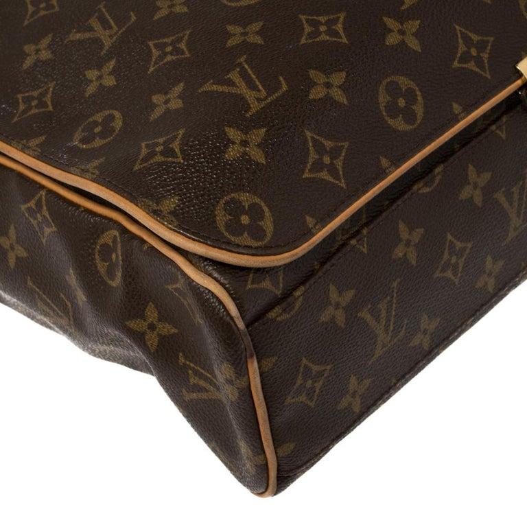 Louis Vuitton Monogram Canvas Abbesses Messenger Bag For Sale 5