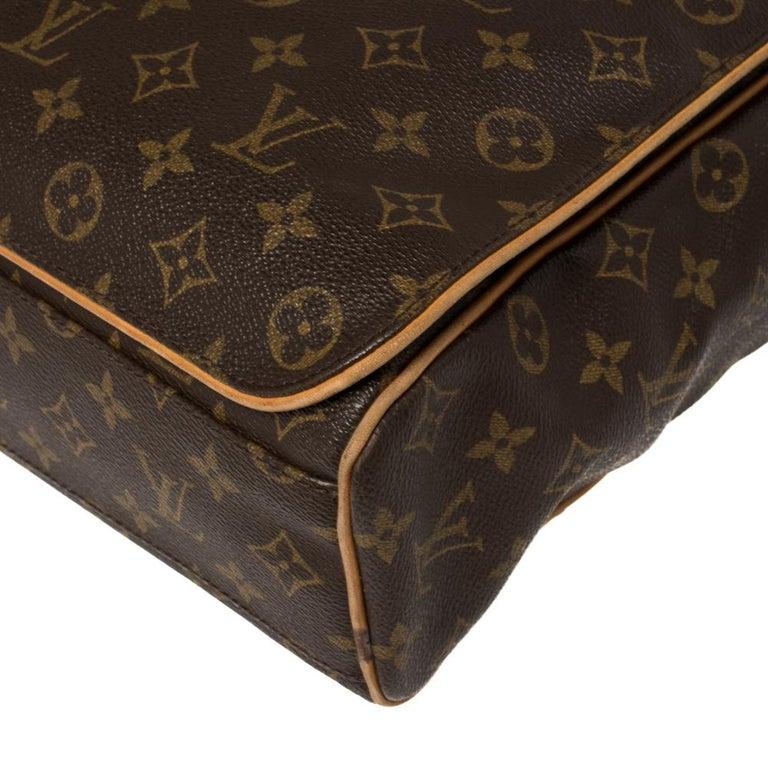 Louis Vuitton Monogram Canvas Abbesses Messenger Bag For Sale 6