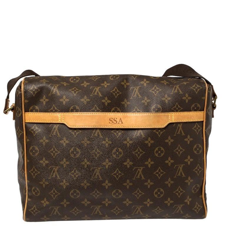 Black Louis Vuitton Monogram Canvas Abbesses Messenger Bag For Sale
