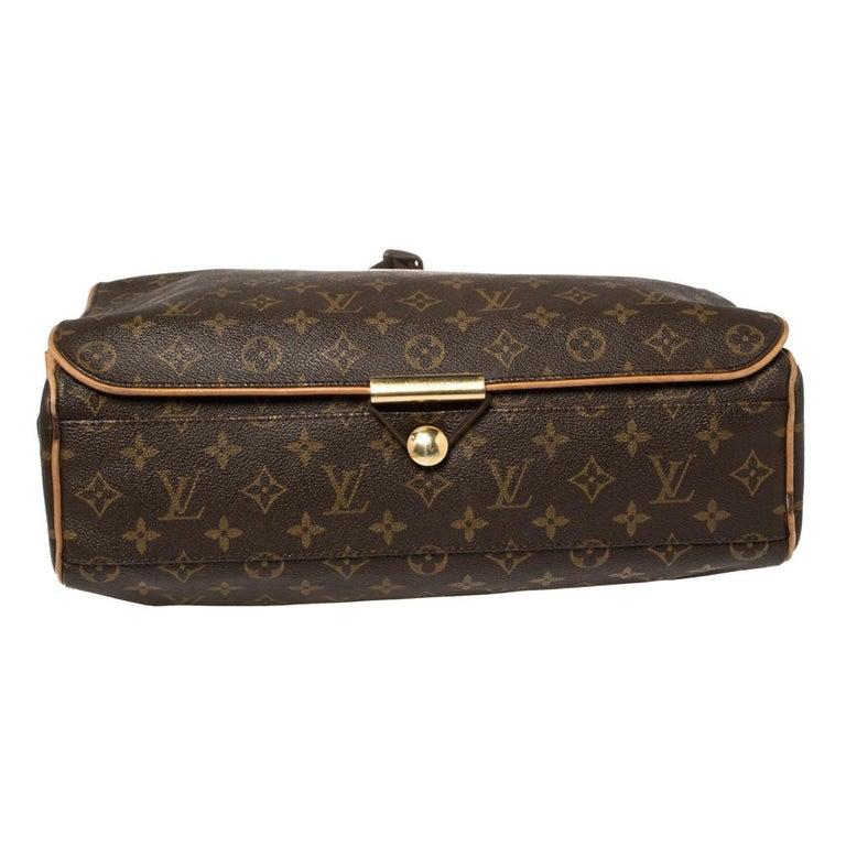 Men's Louis Vuitton Monogram Canvas Abbesses Messenger Bag For Sale