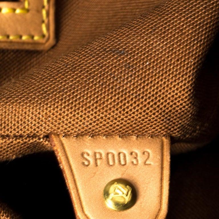 Louis Vuitton Monogram Canvas Abbesses Messenger Bag For Sale 2