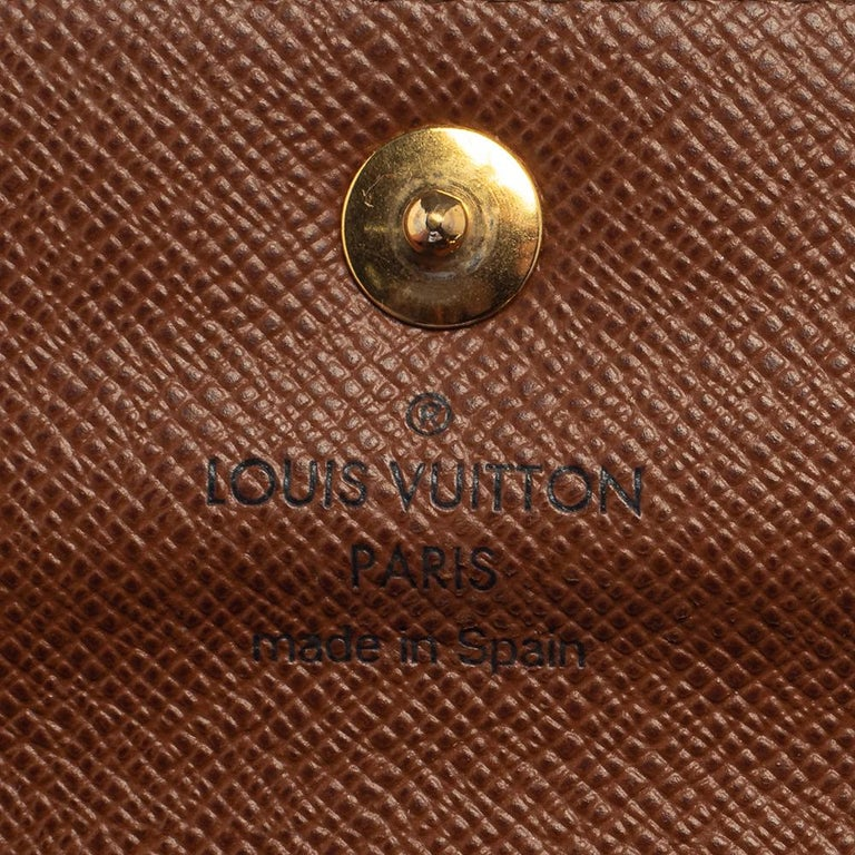 Louis Vuitton Monogram Canvas Alexandra Wallet 5