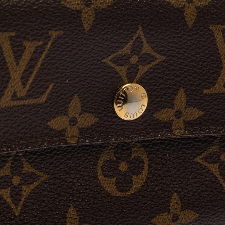 Louis Vuitton Monogram Canvas Alexandra Wallet 1