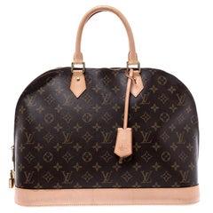 Louis Vuitton Monogram Canvas Alma GM Bag