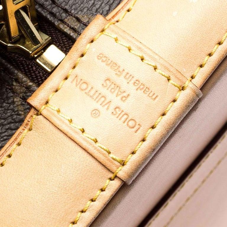 Louis Vuitton Monogram Canvas Alma PM Bag For Sale 6