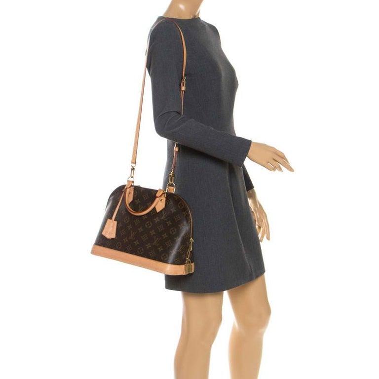 Louis Vuitton Monogram Canvas Alma PM Bag In Good Condition For Sale In Dubai, Al Qouz 2