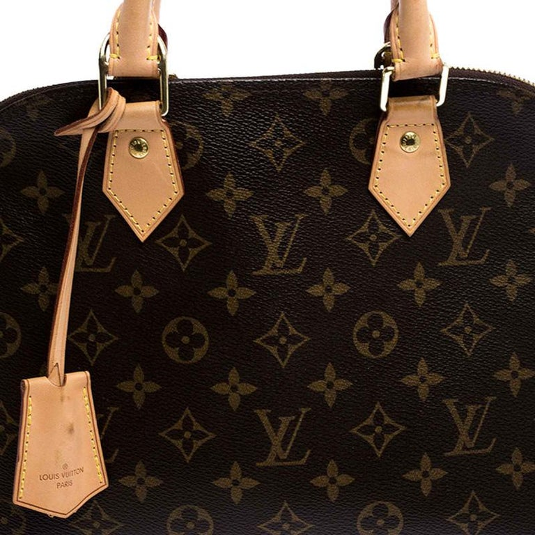 Louis Vuitton Monogram Canvas Alma PM Bag For Sale 2