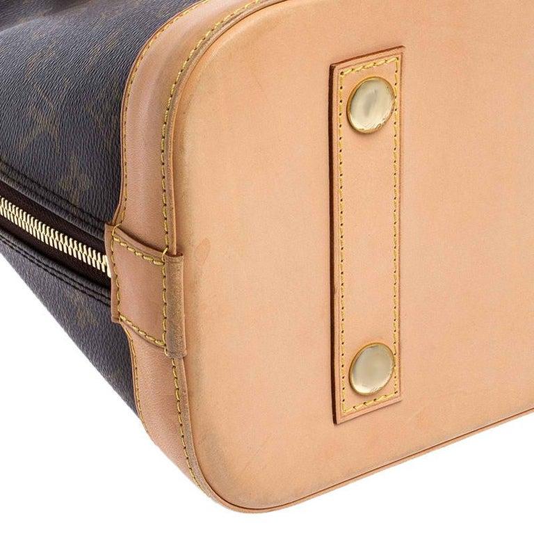 Louis Vuitton Monogram Canvas Alma PM Bag For Sale 3