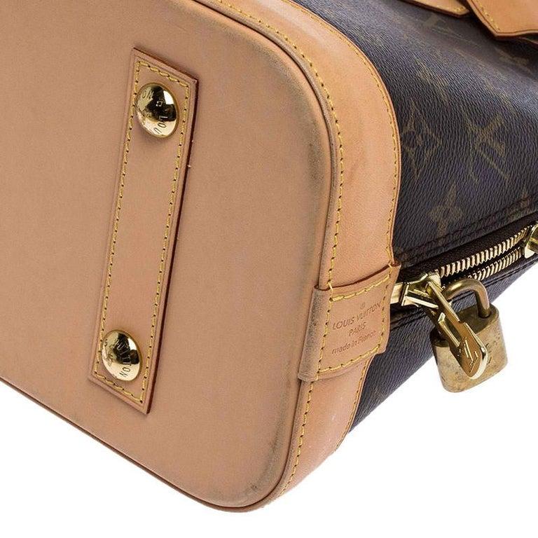 Louis Vuitton Monogram Canvas Alma PM Bag For Sale 4