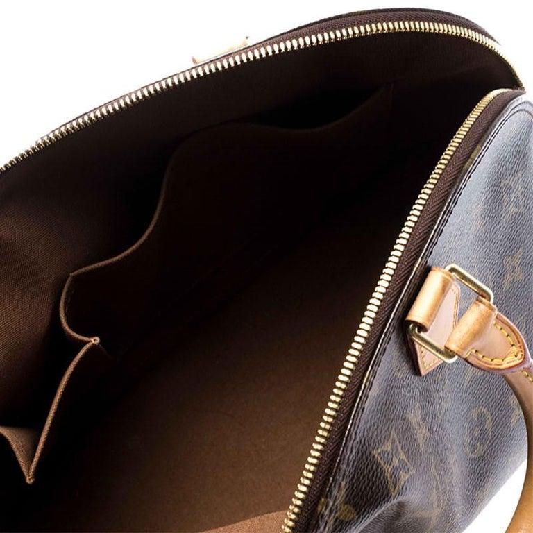 Louis Vuitton Monogram Canvas Alma PM Bag For Sale 5