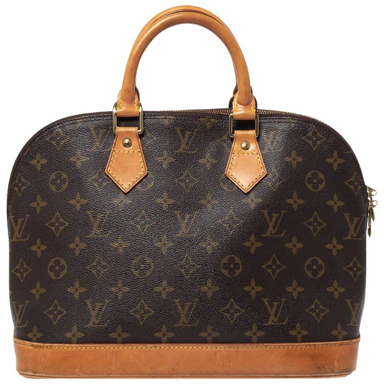 Louis Vuitton Monogram Canvas Alma Pm Bag For Sale At 1stdibs