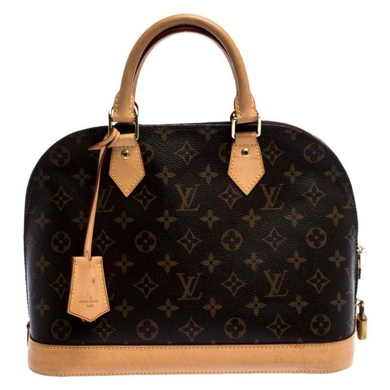 Louis Vuitton Monogram Canvas Alma PM Bag For Sale