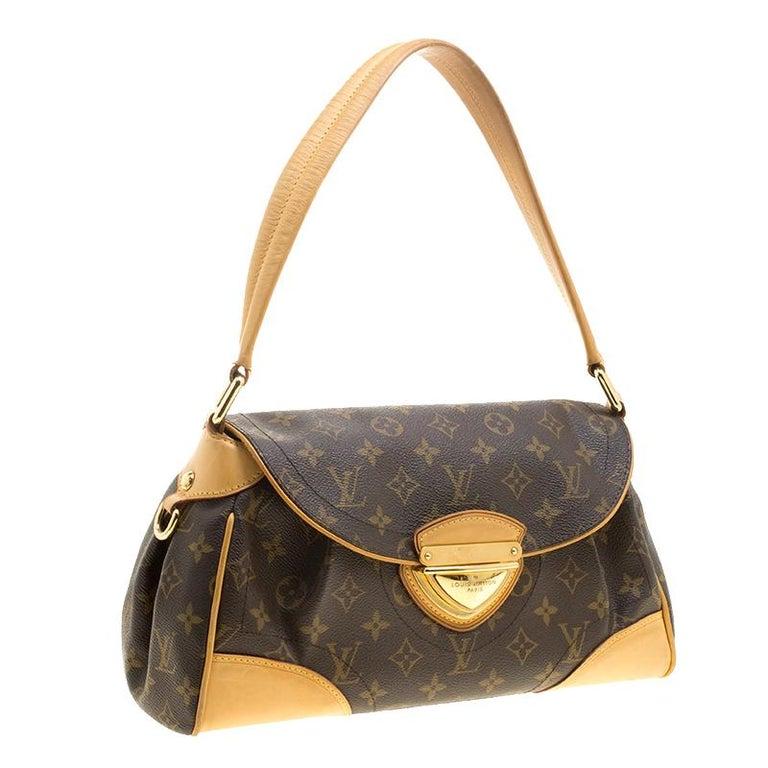 4a102df30d053 Louis Vuitton Monogram Canvas und Leder Beverly MM Tasche im Angebot ...