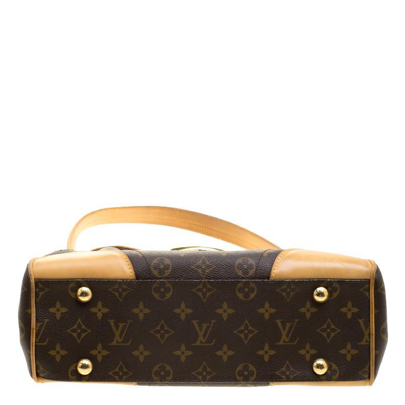74b8ae96a6321 Louis Vuitton Monogram Canvas und Leder Beverly MM Tasche im Angebot bei  1stdibs