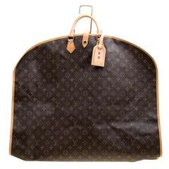 Louis Vuitton Monogram Leinen und Leder Kleidungsstück Cover