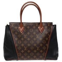 Louis Vuitton Monogram Canvas and Orfevre Leather W PM Bag