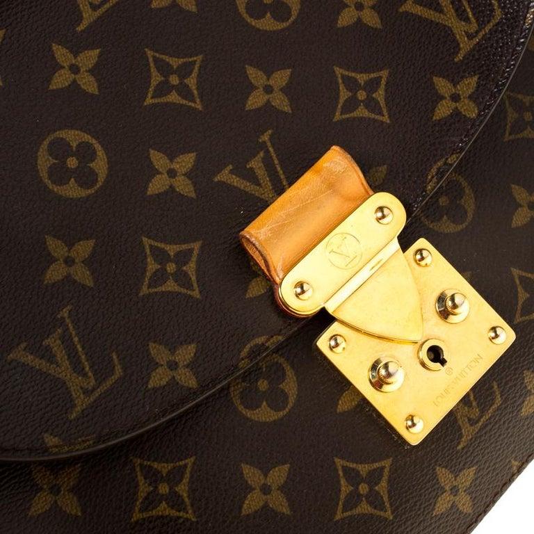 Louis Vuitton Monogram Canvas Aurore Eden MM Bag For Sale 5