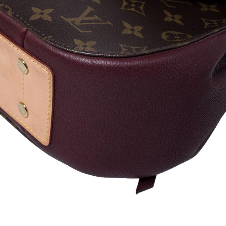 Louis Vuitton Monogram Canvas Aurore Eden MM Bag 7
