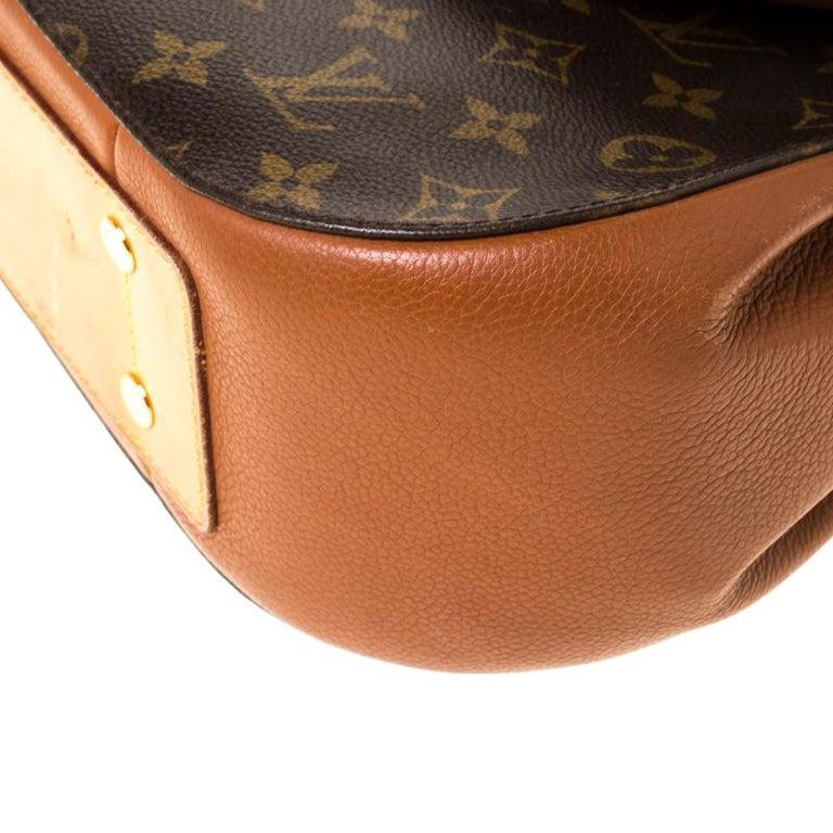 Louis Vuitton Monogram Canvas Aurore Eden MM Bag For Sale 7