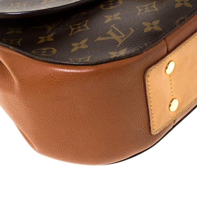 Louis Vuitton Monogram Canvas Aurore Eden MM Bag For Sale 8