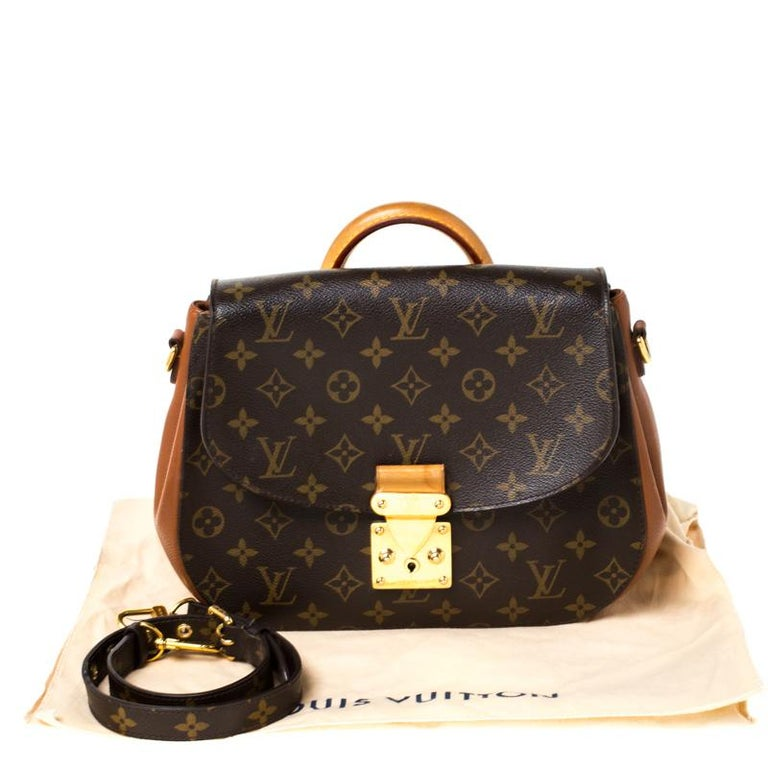 Louis Vuitton Monogram Canvas Aurore Eden MM Bag For Sale 10