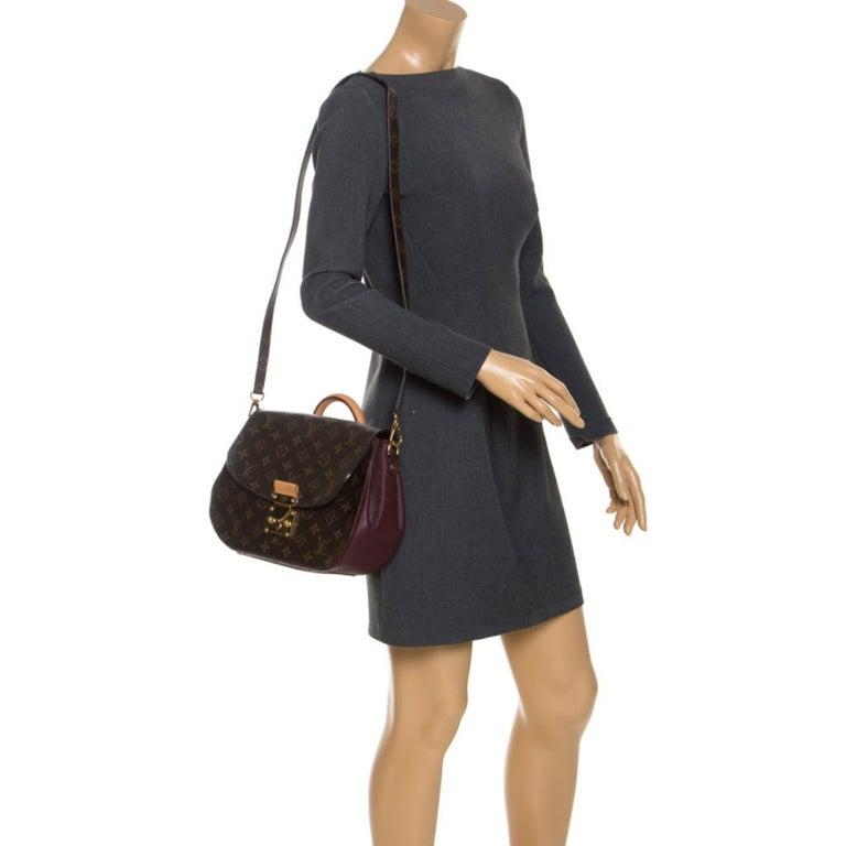Louis Vuitton Monogram Canvas Aurore Eden MM Bag In Good Condition In Dubai, Al Qouz 2