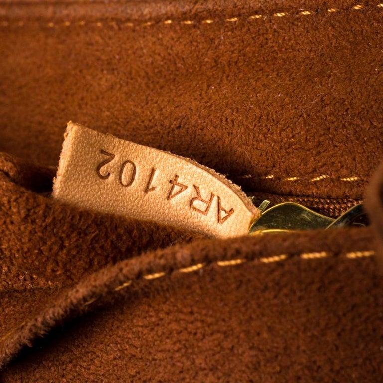 Louis Vuitton Monogram Canvas Aurore Eden MM Bag In Good Condition For Sale In Dubai, Al Qouz 2