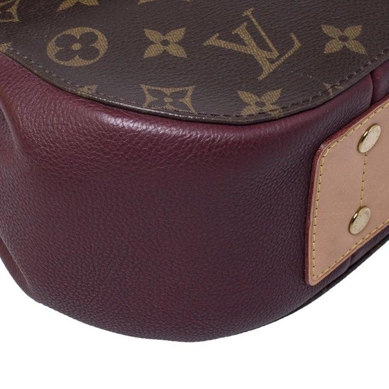 Louis Vuitton Monogram Canvas Aurore Eden MM Bag 5