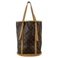 Louis Vuitton Monogram Canvas Bucket GM Shopping Bag Tote