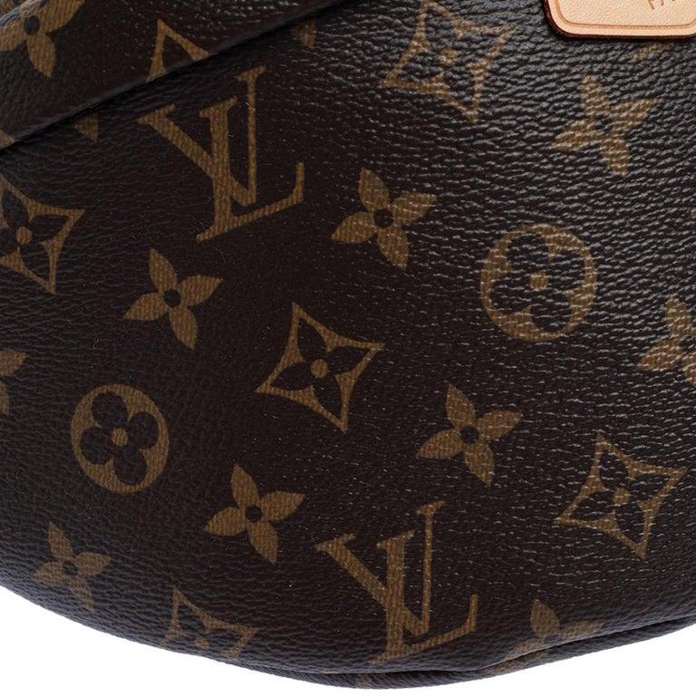 Louis Vuitton Monogram Canvas Bumbag MM Belt Bag For Sale 6