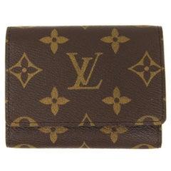 Louis Vuitton Monogram Canvas Business Card Holder, 2000s