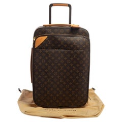 Louis Vuitton Monogram Canvas Business Pegase Legere 55 Luggage