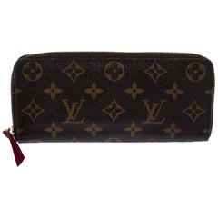 Louis Vuitton Monogram Canvas Clemence Wallet