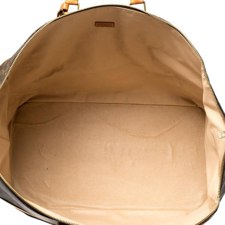 Louis Vuitton Monogram Canvas Cruiser 50 Bag For Sale 6