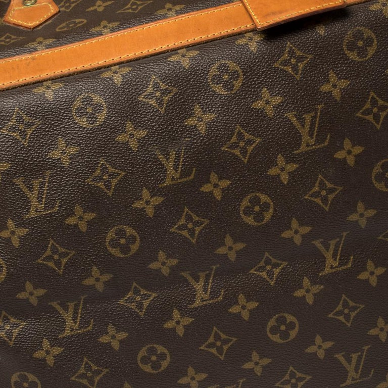 Louis Vuitton Monogram Canvas Cruiser 50 Bag For Sale 7