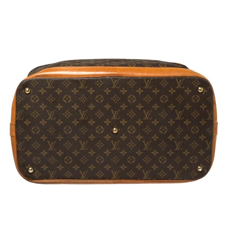 Louis Vuitton Monogram Canvas Cruiser 50 Bag For Sale 8