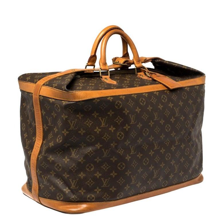 Black Louis Vuitton Monogram Canvas Cruiser 50 Bag For Sale