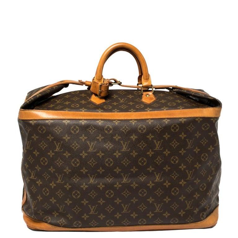 Louis Vuitton Monogram Canvas Cruiser 50 Bag In Good Condition For Sale In Dubai, Al Qouz 2