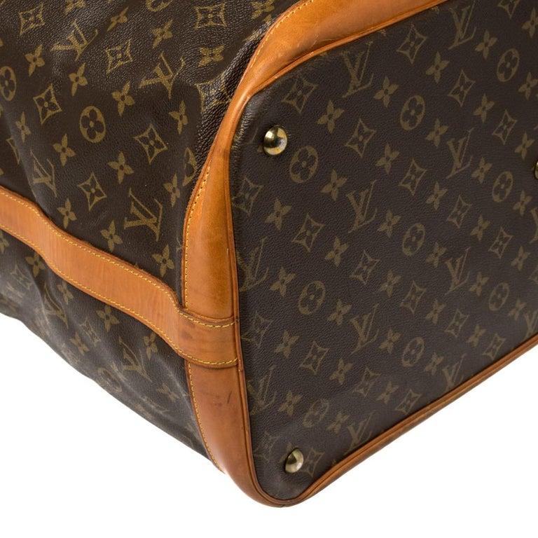 Louis Vuitton Monogram Canvas Cruiser 50 Bag For Sale 3