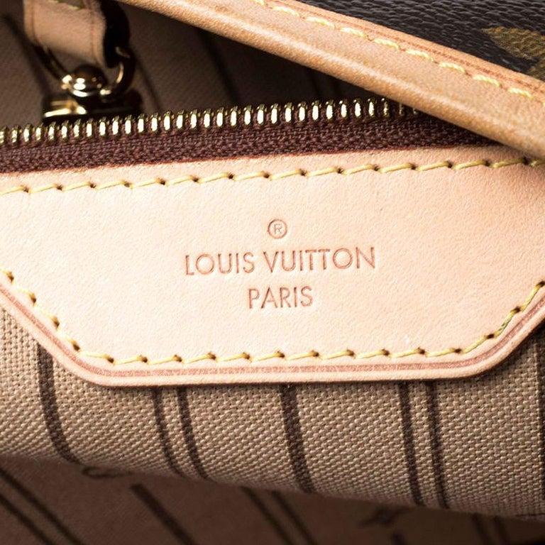 Louis Vuitton Monogram Canvas Delightful MM Bag 7