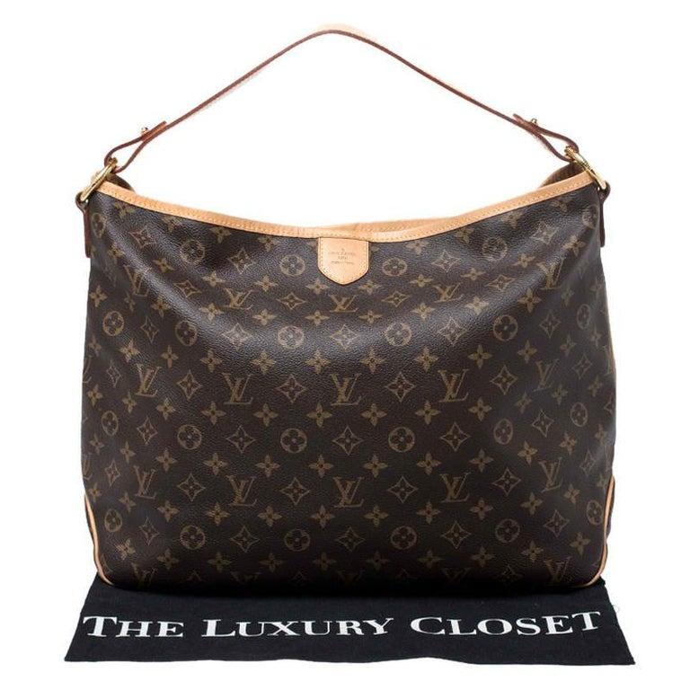 Louis Vuitton Monogram Canvas Delightful MM Bag 8