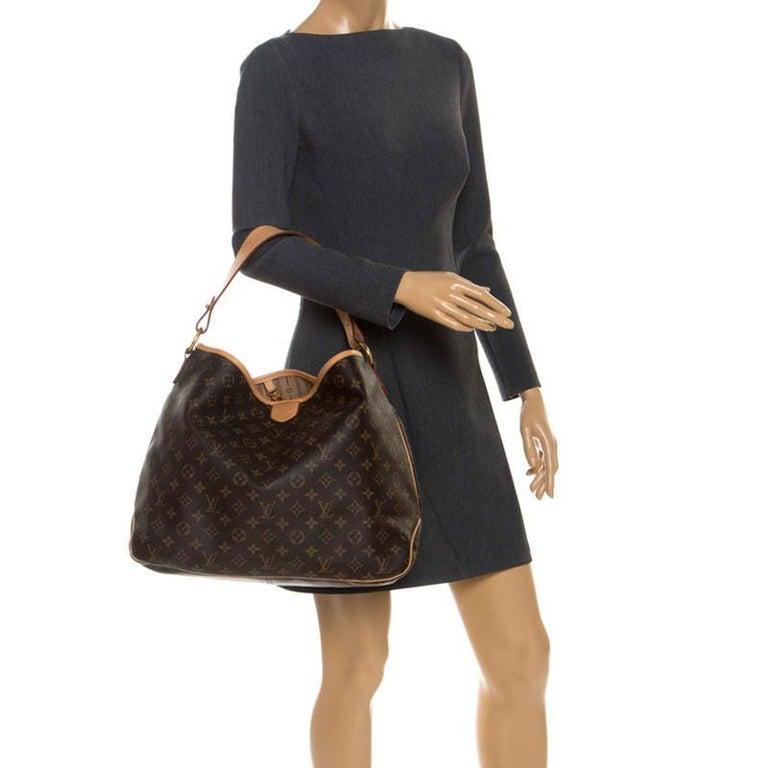 Louis Vuitton Monogram Canvas Delightful MM Bag In Good Condition In Dubai, Al Qouz 2