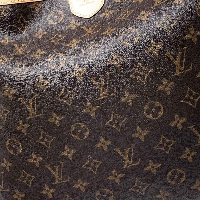 Louis Vuitton Monogram Canvas Delightful MM Bag 2