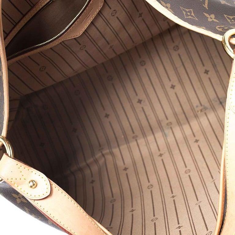 Louis Vuitton Monogram Canvas Delightful MM Bag 3