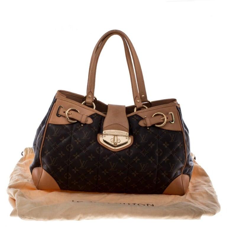 Louis Vuitton Monogram Canvas Etoile Shopper Bag For Sale 8