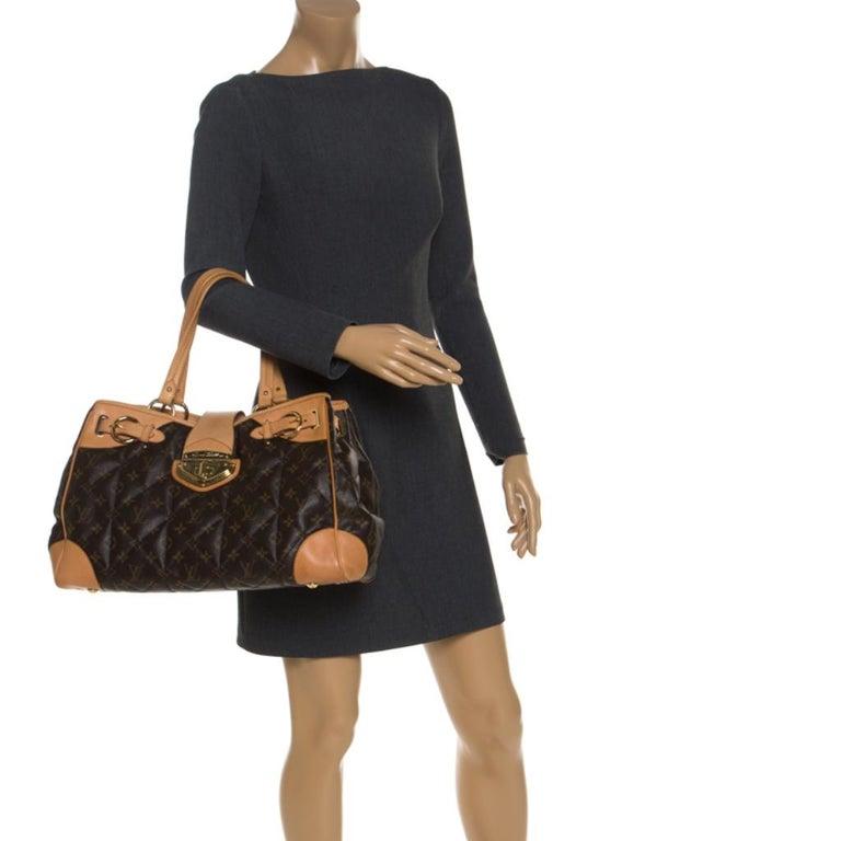 Louis Vuitton Monogram Canvas Etoile Shopper Bag In Good Condition For Sale In Dubai, Al Qouz 2