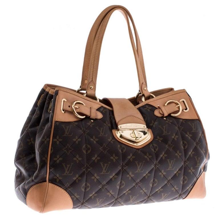Women's Louis Vuitton Monogram Canvas Etoile Shopper Bag For Sale
